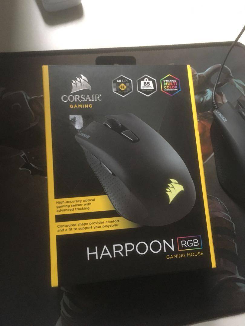 0429cc9f1e6 Corsair Harpoon RGB Gaming Mouse, Electronics, Computer Parts ...