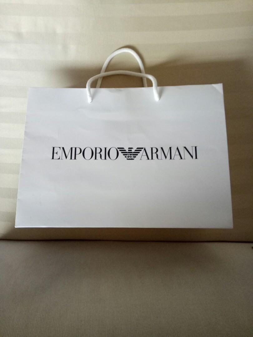💯🅰Emporio Armani Paper Bag 775242bf7c64b