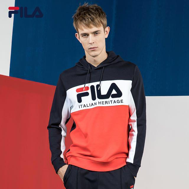fila italian heritage hoodie, Men's Fashion, Clothes, Tops ...