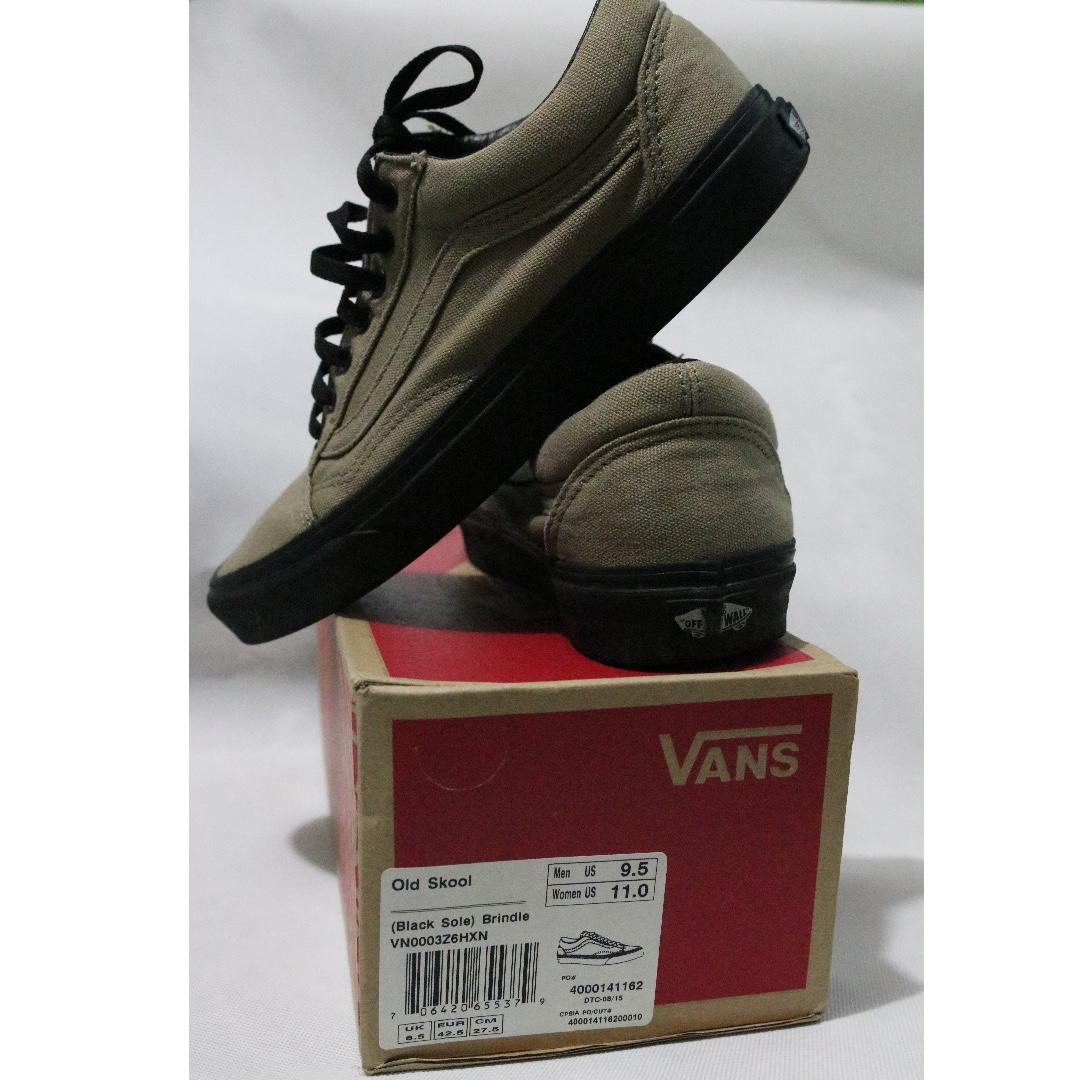 31a9521a15ed45 Genuine VANS Old Skool Unisex Black Sole Skate Shoes Sneakers ...