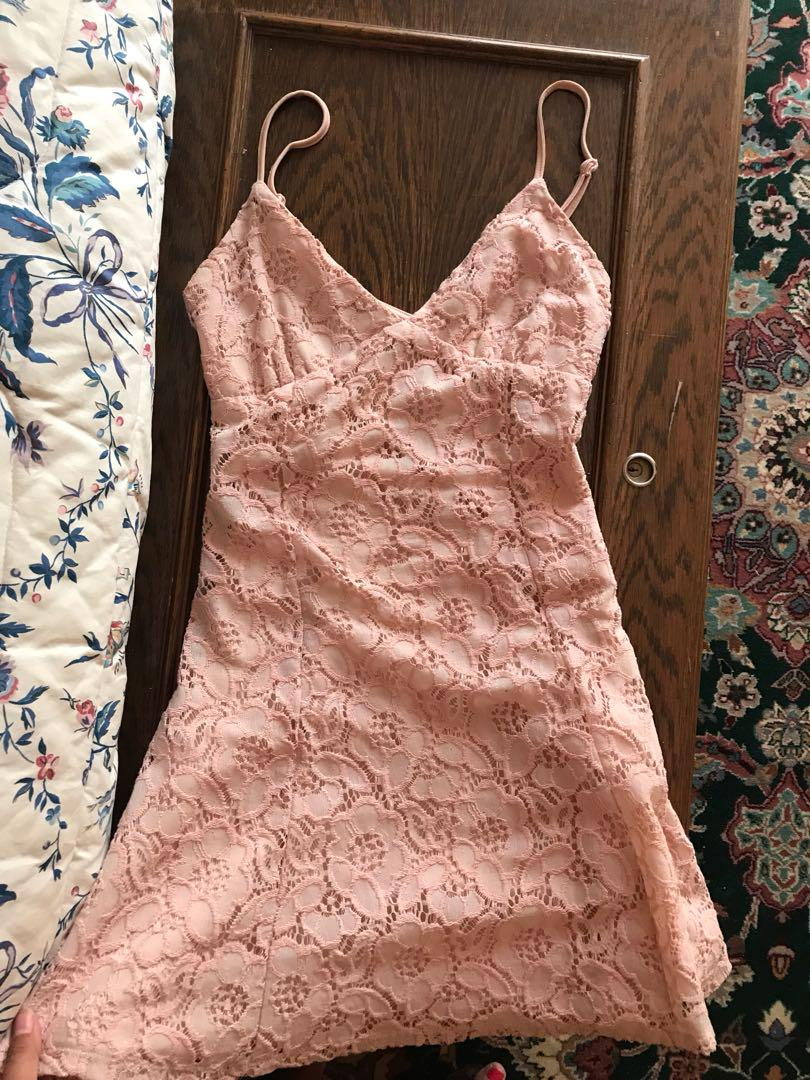 Gorgeous pink graduation dress small pink