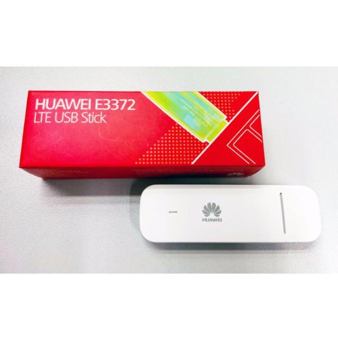 Huawei E3372 (WHITE) 4G & 150Mbps Dongle USB Modem USB Stick
