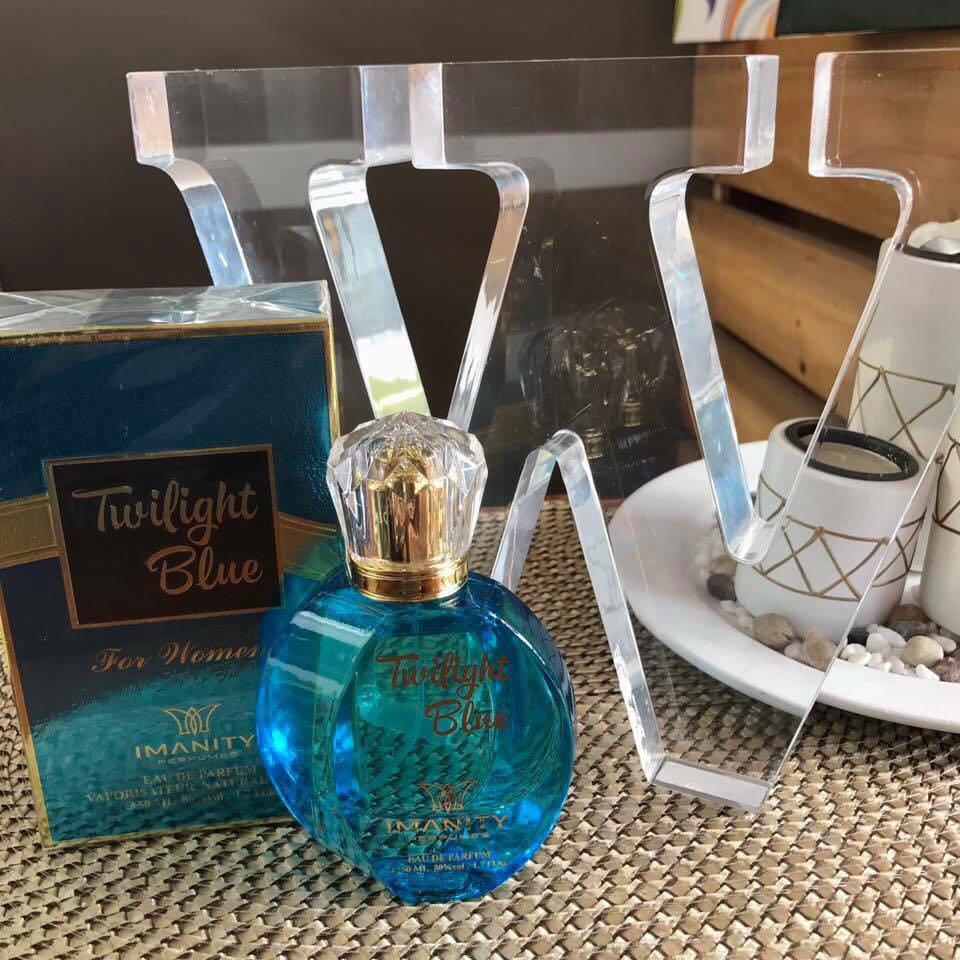 Imani perfume twilight blue oil base 50ml on Carousell
