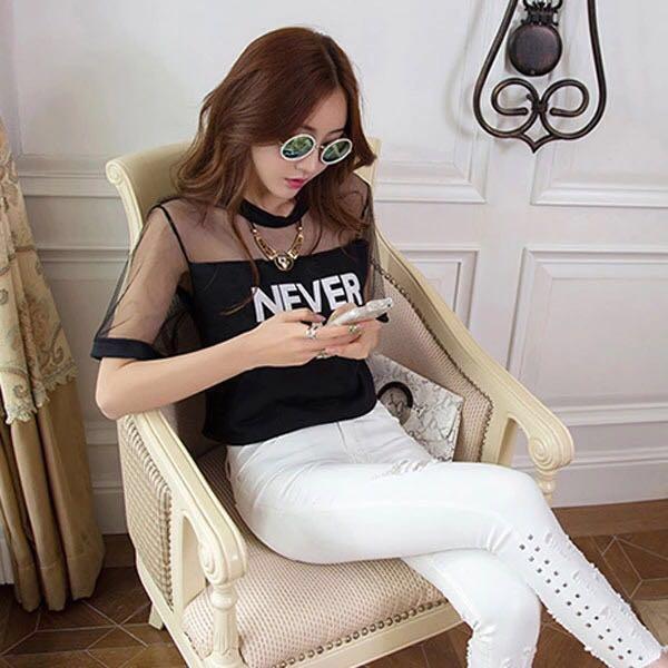 5991e339d9f44 Carousell의 Korean Stylish Crop Top