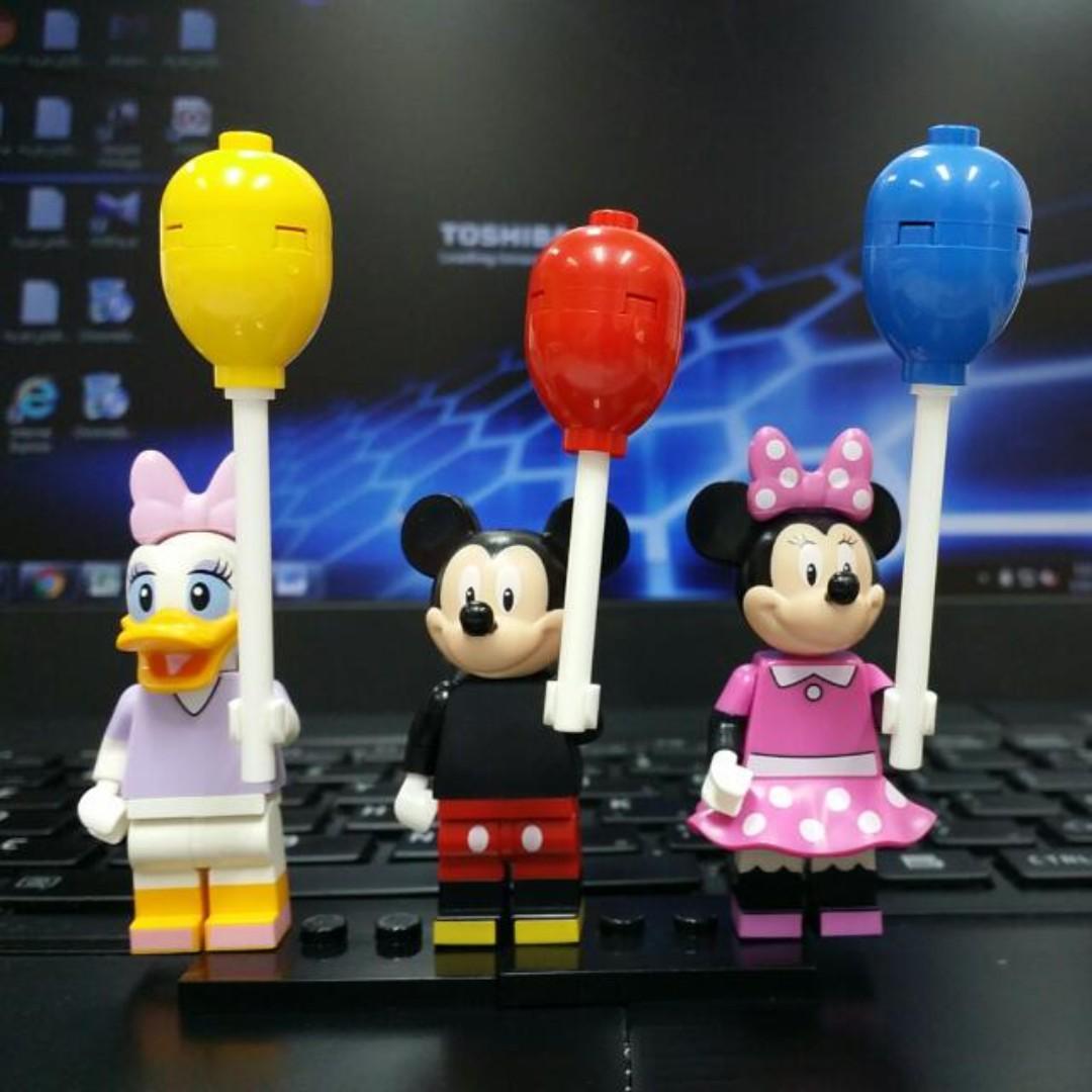 LEGO DISNEY MINNIE MOUSE MINIFIG 71040 NEW figure minifigure castle mickey
