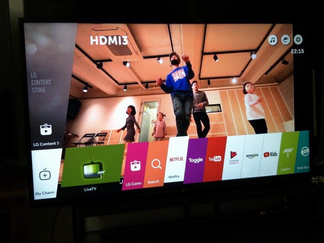 LG 49 inch 4k Ultra HD Slim Smart Led Tv