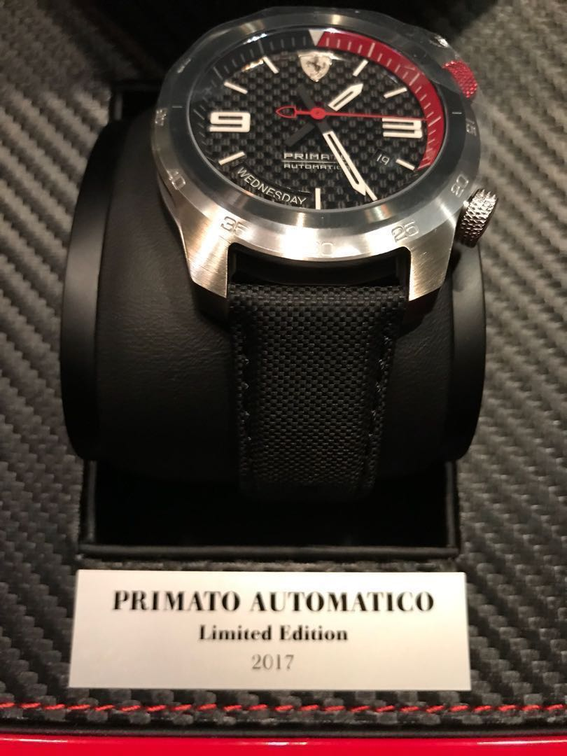 5ef3ae541 Limited edition Primato Ferrari watch. Only 300 pieces produced ...