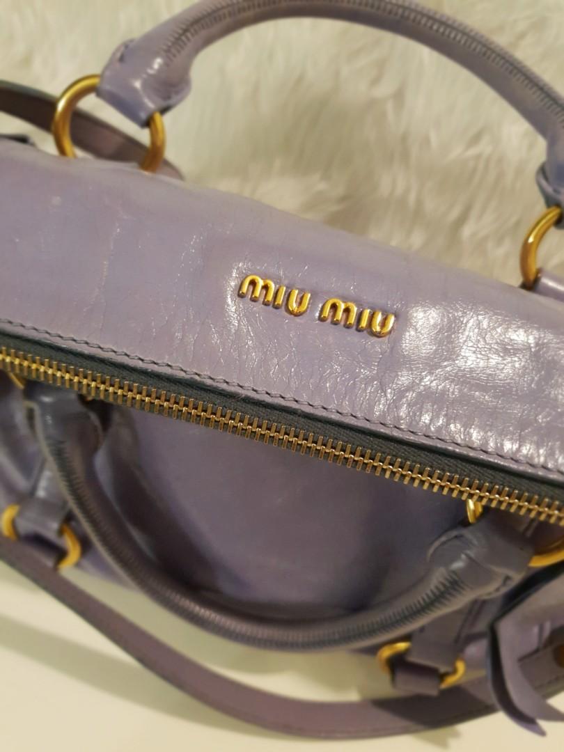 b9765972c352 Rush Sale.Miu Miu Bow satchel