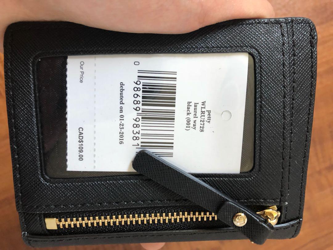 New Kate spade laurel way wallet