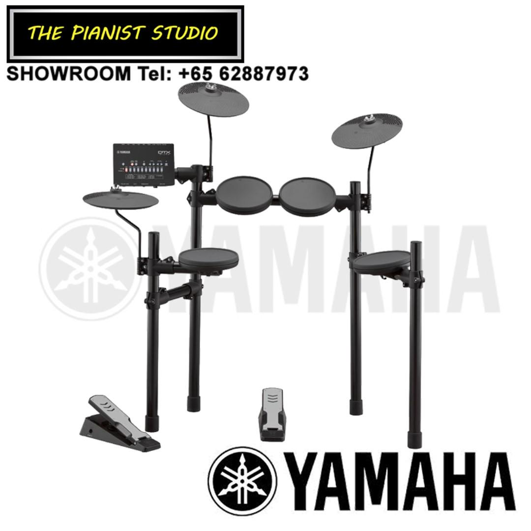THE PIANIST STUDIO - Yamaha DTX Electronic Drum DTX402K Singapore Sale NOW with Free Yamaha Drum Throne Stool DS550U