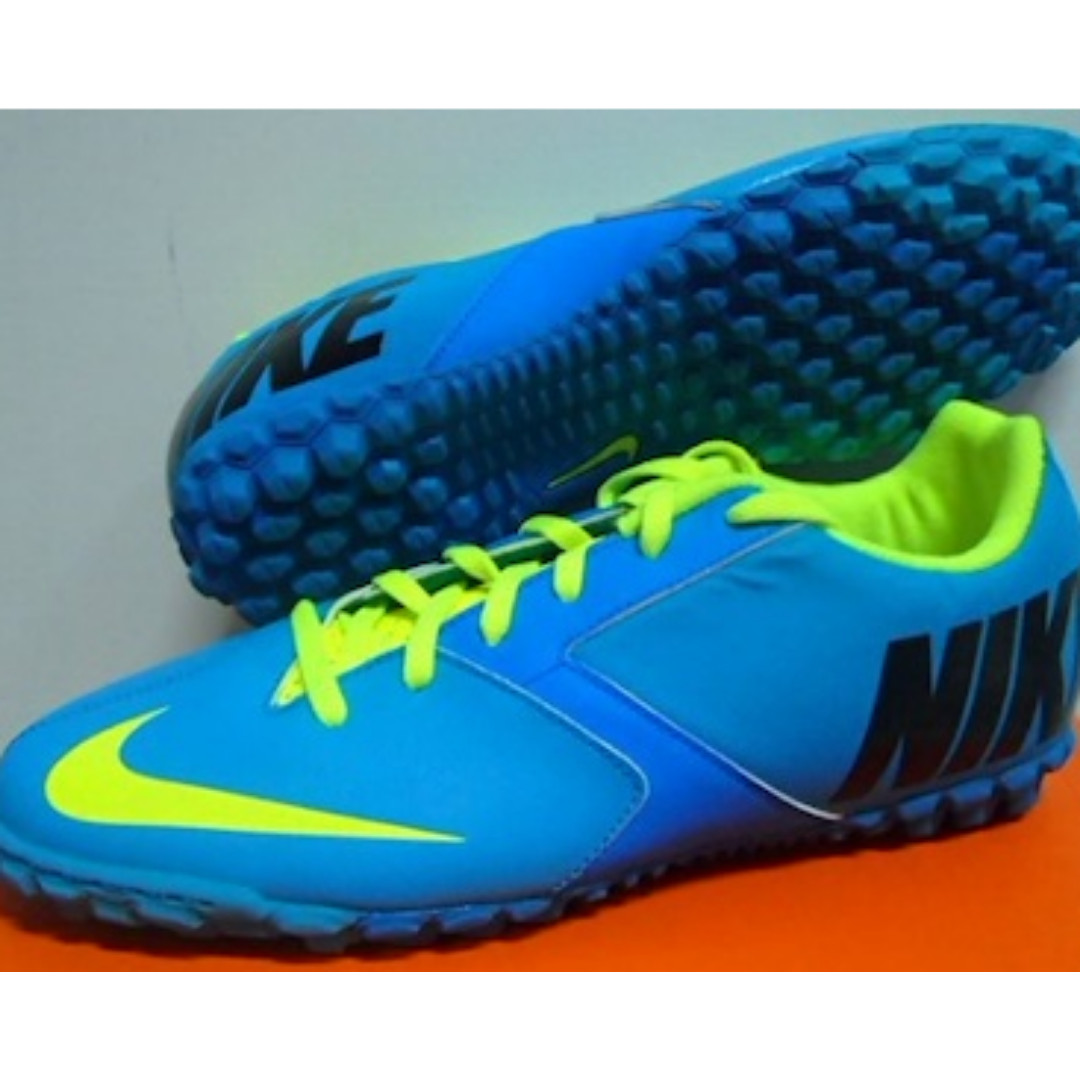 fe9b6be75 NIKE BOMBA II ASTRO TURF FOOTBALL SOCCER FUTSAL SHOES BOOTS BOOT ...