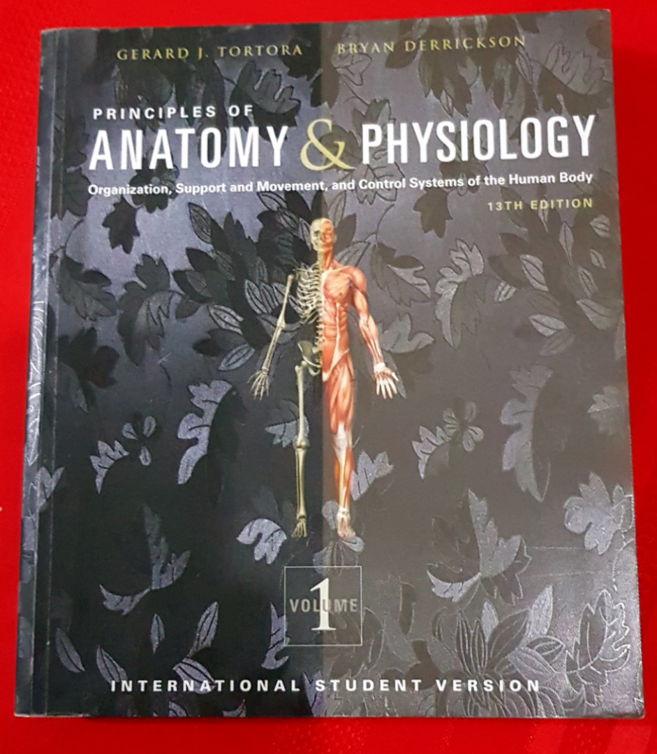 Principles of Anatomy and Physiology 13th edition by Tortora vol 1 ...