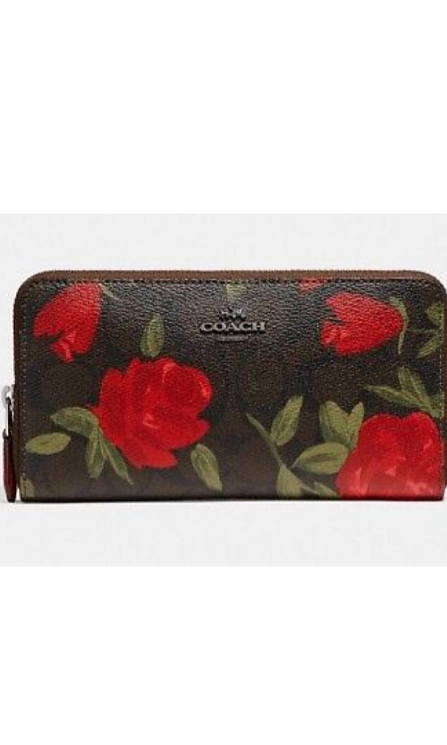 Authentic Coach Multi Accordion Zip with Camo Rose Floral Print, Women s  Fashion, Bags   Wallets, Wallets on Carousell d5b5582e8b