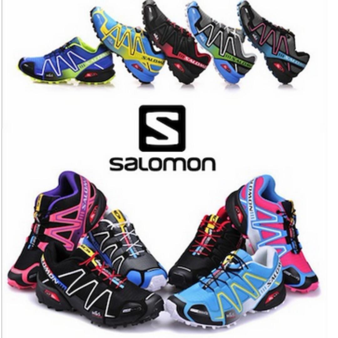 5a4090fe4701 Salomon Men Women Outdoor basketball Shoes Hiking Sneakers Running ...