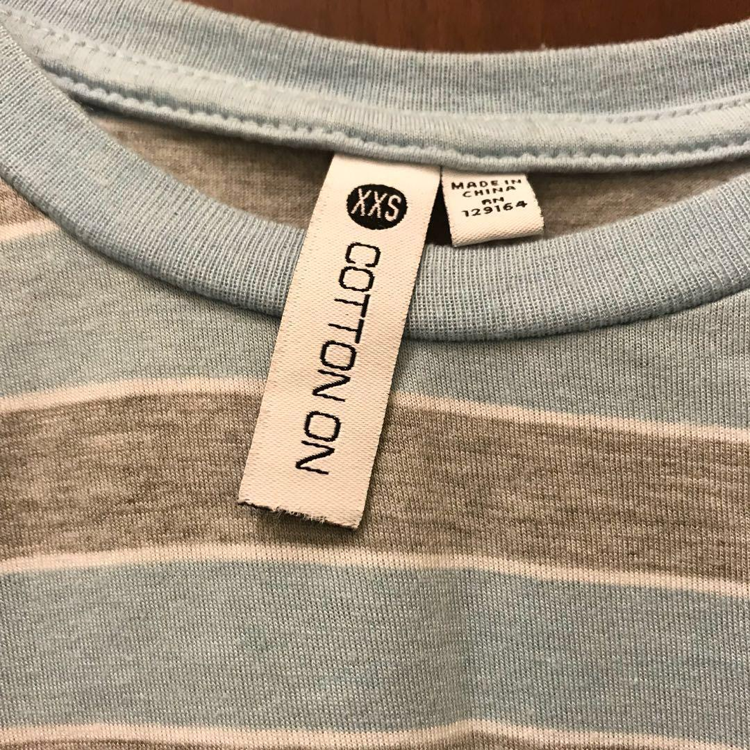 Striped Crop Top Cotton On