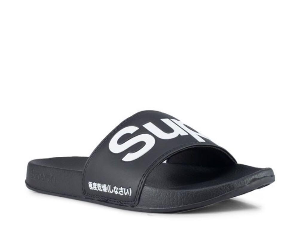 9ea675c6 SUPERDRY POOL SLIDE, Men's Fashion, Footwear, Slippers & Sandals on ...