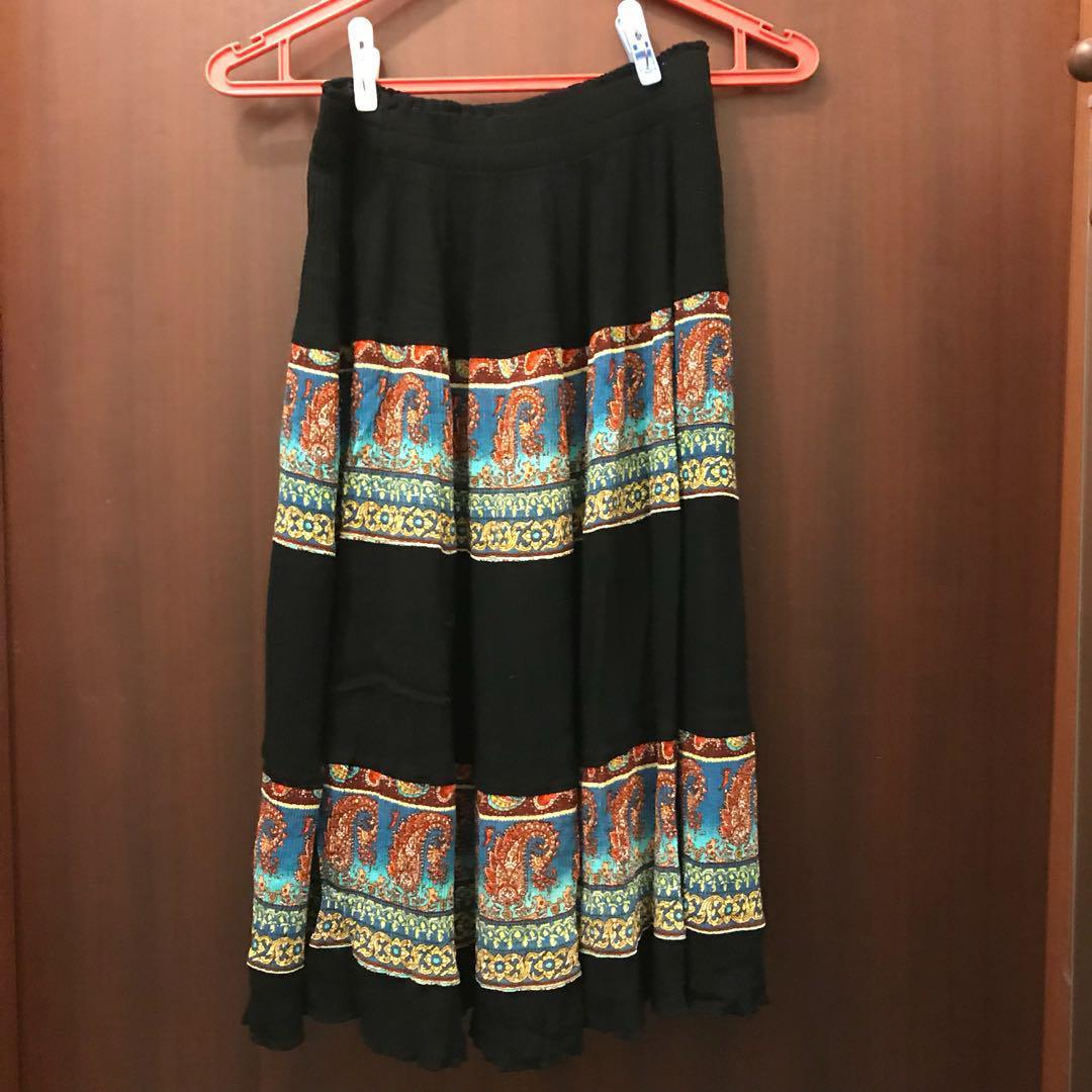 Tribal Skirt Bohemian Boho