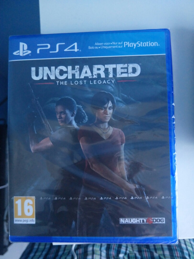Uncharted The Lost Legacy Toys Games Video Gaming Ps4uncharted Reg 3 On Carousell