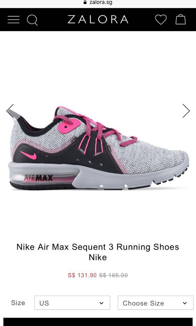 f4405fba85 WMNS Nike Air Max Sequent 3 PINK, Women's Fashion, Shoes, Sneakers ...