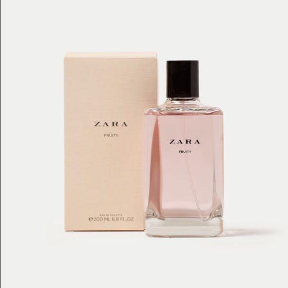 Zara Fruity Eau De Toilette Health Beauty Perfumes Deodorants