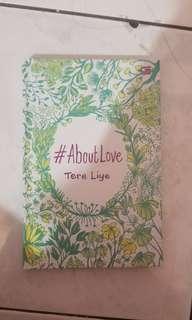 Buku #aboutlove tereliye