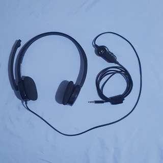 Logitech® Headset w/ Mic