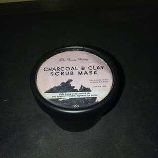 Charcoal and Clay Scrub Mask
