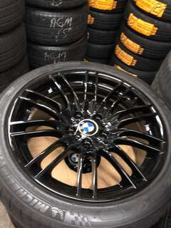 BMW Original 18' E90 M3 260 Type rim with Michelin Pilot Super sport