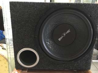 """10"""" subwoofer with box"""
