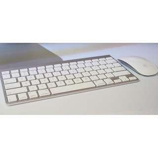 Apple keyboard & mouse