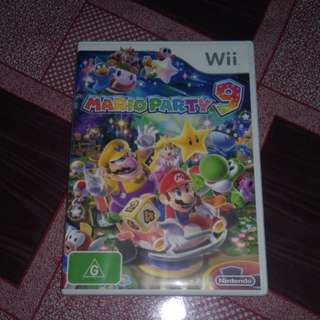 Nintendo wii PAL mario party 9