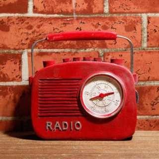 RENTAL - RADIO TABLE DECOR