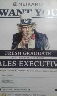 Sales executive meikarta