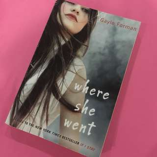 Where she went novel