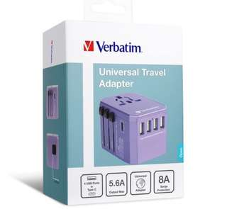 Verbatim 5 Ports 旅行充電器(香港代理1年保養)