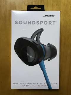 Bose Soundsport Bluetooth headphone 藍芽耳機