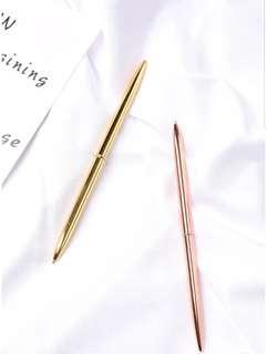🚚 Gold rose gold pen 🖋