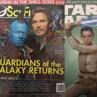Star Wars and Guardians of the Galaxy Magazine Bundle