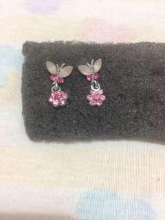 Sale! Tindik butterfly pink