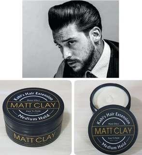 Hair Pomade Matt Clay Medium hold
