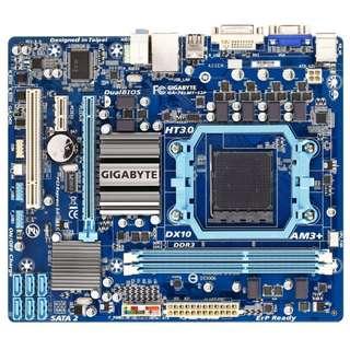 🚚 技嘉GA-78LMT-S2P(REV:5.0)高階全固態電容主機板、DDR3 RAM、支援FX與六核心處理器、附擋板