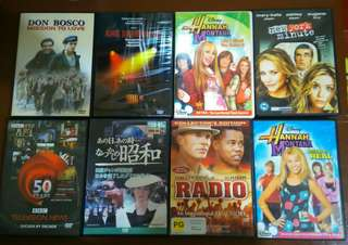 DVD lot sale