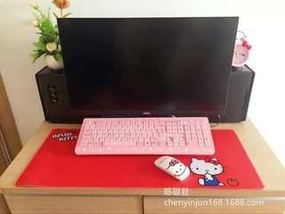 Hellokitty keyboard mat