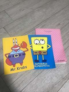 Notebooks (3 pcs)