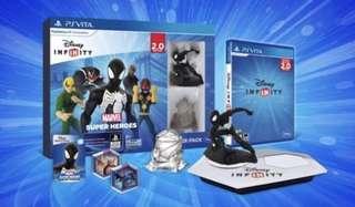 BNIB  Disney Infinity PSVita 2.0 Marvel Superheroes Starter Pack (PS Vita)