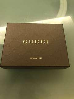 Gucci Wallet box