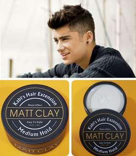 Hair Pomade Matt Clay Medium hold