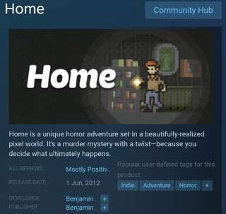 [Clearance Sale] Steam - Home Game