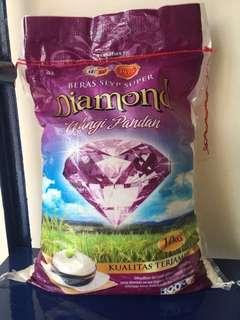 Beras Slyp Super Diamond Wangi Pandan