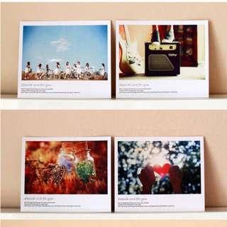 🚚 Appreciation Notes / Postcards